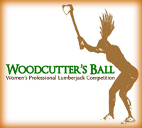 Woodcutter's Ball Women's Professional Lumberjack Competition logo